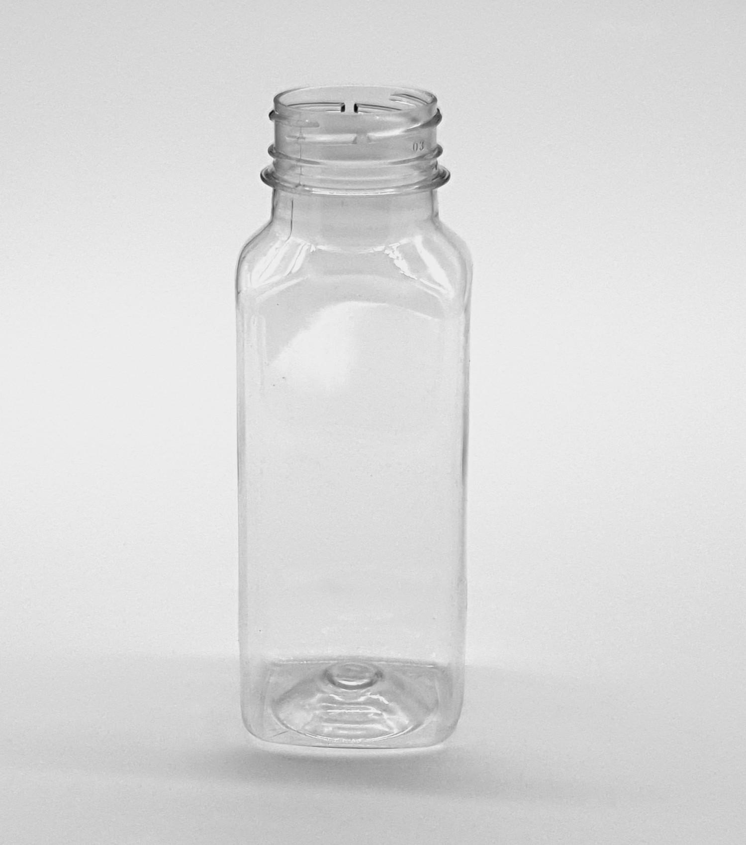 Butelka PET kwadratowa 250 ml